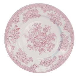 Burleigh Pink Asiatic Pheasant  Salad Plate