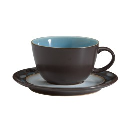 Denby Sienna Turquoise Tea Cup