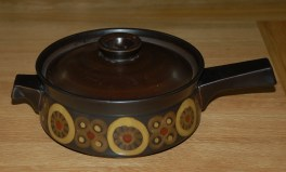 Denby Arabesque  Casserole Dish - Large -  with Handle