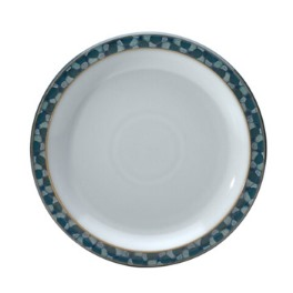 Denby Azure Shell Medium Plate