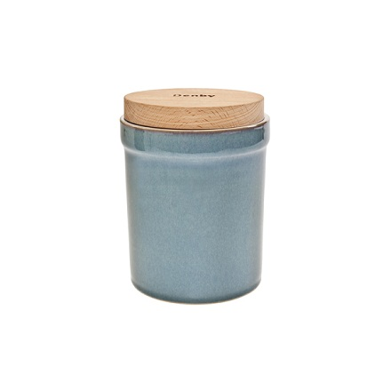 Denby Azure Discontinued Storage Jar