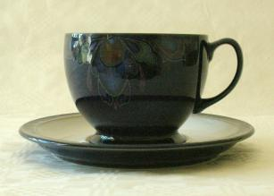 Denby Baroque  Breakfast Cup and Saucer