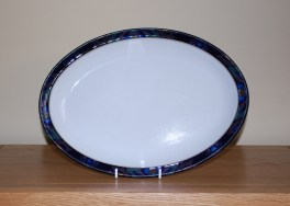 Denby Baroque  Oval Plate