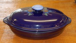 Denby Baroque  Oval Roaster with lid