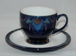 Denby Baroque  Tea Cup and Saucer
