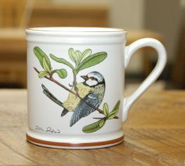 Denby Birds Blue Tit Mug