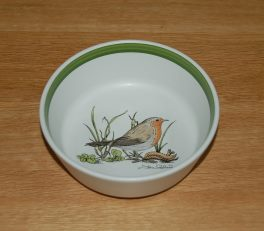 Denby Birds Robin Bowl