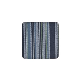 Denby Accessories Black Stripe Coasters - Set of 6