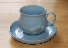 Denby Blue Dawn  Tea Saucer