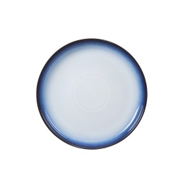 Denby Blue Haze  Coupe Dinner Plates - set of 4