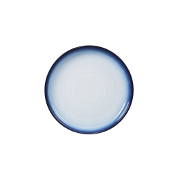 Denby Blue Haze  Medium Coupe Plates - set of 4