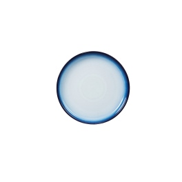 Denby Blue Haze  Small Coupe Plates - set of 4