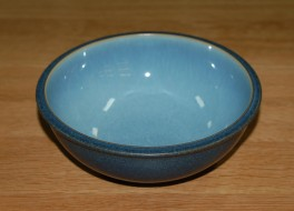 Denby Blue Jetty Blue Soup/Cereal Bowl