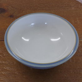 Denby Blue Jetty White Soup/Cereal Bowl