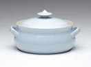 Denby Blue Linen  Covered Veg Dish