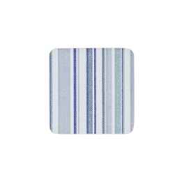 Denby Accessories Blue & Green Stripe Coasters - Set of 6