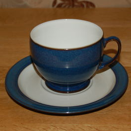 Denby Boston  Breakfast Cup and Saucer