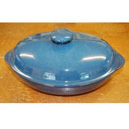 Denby Boston  Oval Dish with Lid