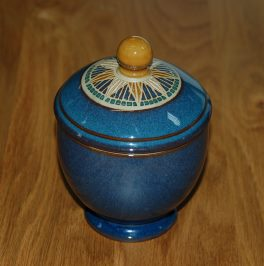 Denby Boston Spa Covered Sugar - older shape