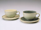 Denby Calm Dark Green Tea Saucer