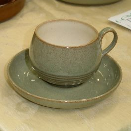 Denby Camelot  Tea Cup and Saucer