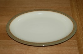 Denby Camelot  Oval Plate - 12.5 inch
