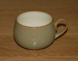 Denby Camelot (no bands) Tea Cup