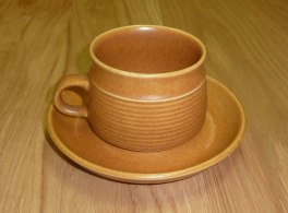 Denby Canterbury  Tea Cup and Saucer