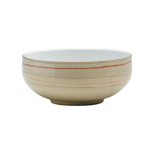 Denby Caramel Stripes Soup/Cereal Bowl