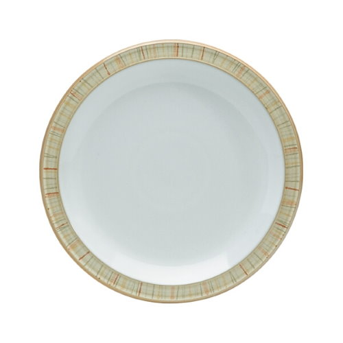 Denby Caramel Stripes Dinner Plate