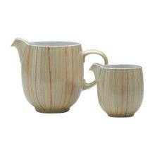 Denby Caramel Stripes Small Jug
