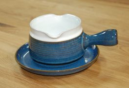 Denby Chatsworth  Sauce Jug and Saucer