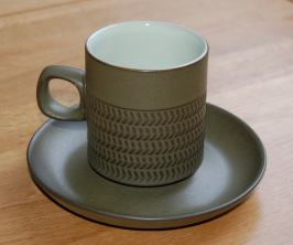 Denby Chevron (5 lines of chevrons) Cup