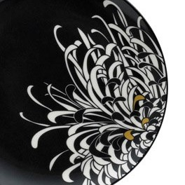 Monsoon Home Chrysanthemum Charcoal