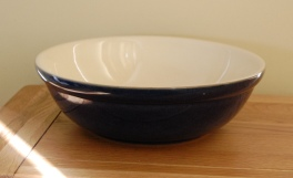 Denby Classic Blue Serving Bowl - Large