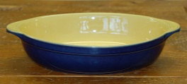 Denby Classic Blue Oval Roaster