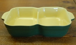 Denby Classic Green Divided Dish
