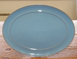 Denby Colonial Blue  Oval Platter