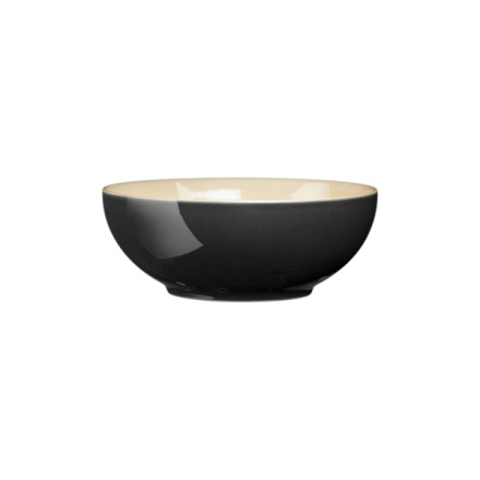 Denby Cook & Dine Black Soup/Cereal Bowl