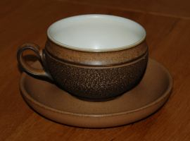 Denby Cotswold  Tea Cup and Saucer