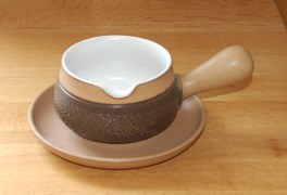 Denby Cotswold  Sauce Jug and Saucer