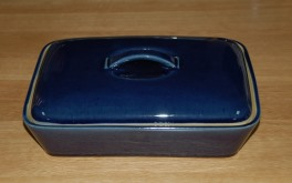 Denby Cottage Blue  Divided Dish with lid