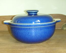 Denby Classic Blue Casserole Dish - Small