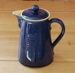 Denby Cottage Blue  Coffee Pot - 1 pint (Straight)