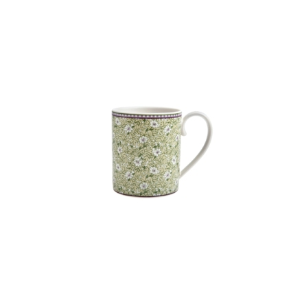 Denby Monsoon Daisy Green  Can Mug