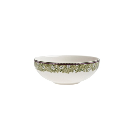 Denby Monsoon Daisy Green  Soup/Cereal Bowl