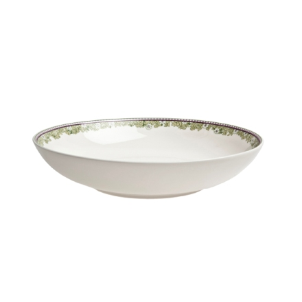 Denby Monsoon Daisy Green  Pasta Bowl