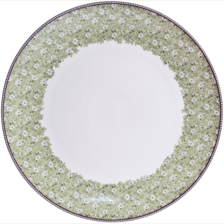 Denby Monsoon Daisy Green  Round Platter