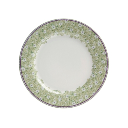 Denby Monsoon Daisy Green  Salad Plate