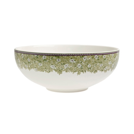 Denby Monsoon Daisy Green  Serving Bowl